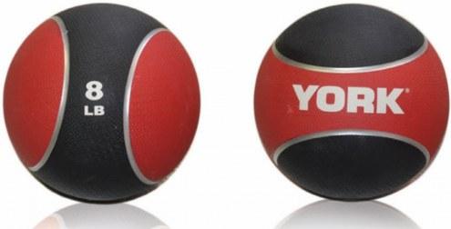 York 2 Tone Medicine Ball - 8 lb