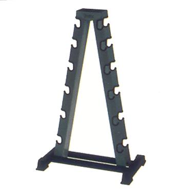 York 2-Sided A-Frame Dumbbell Rack