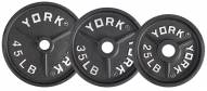 York Deep Dish Cast Iron Olympic Plates