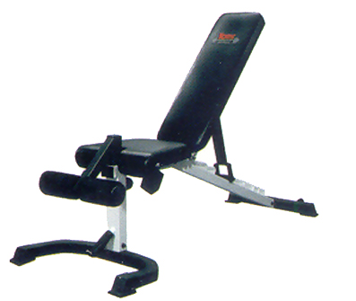 York Flex Weight Bench with Foot Hold-Down