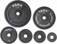 York Legacy Cast Iron Olympic Plates