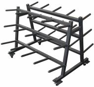 York Mobile Aerobic Set Rack