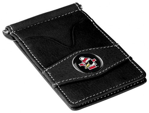 Youngstown State Penguins Black Player's Wallet