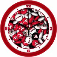 Youngstown State Penguins Candy Wall Clock