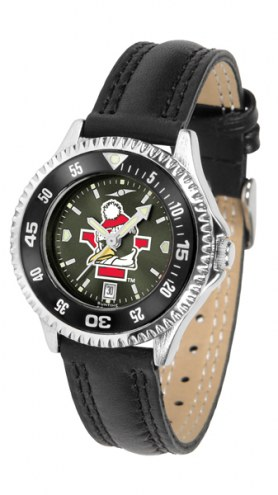 Youngstown State Penguins Competitor AnoChrome Women's Watch - Color Bezel