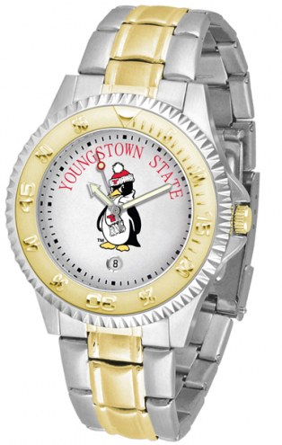 Youngstown State Penguins Competitor Two-Tone Men's Watch
