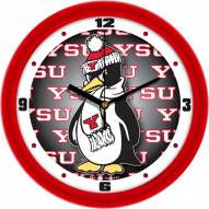 Youngstown State Penguins Dimension Wall Clock