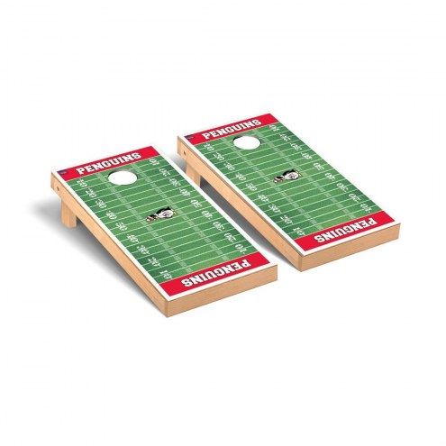 Youngstown State Penguins Football Field Cornhole Game Set