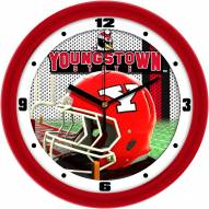 Youngstown State Penguins Football Helmet Wall Clock