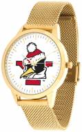 Youngstown State Penguins Gold Mesh Statement Watch