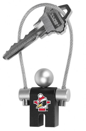 Youngstown State Penguins Jumper Keychain