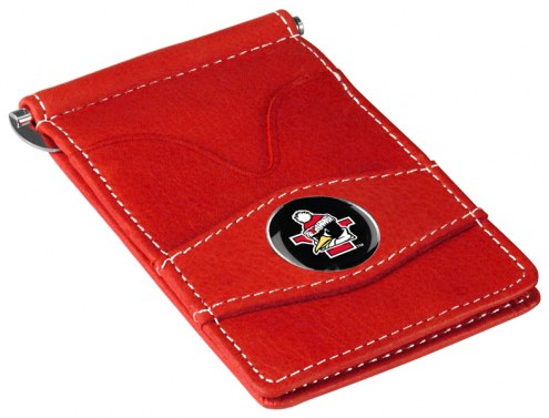 Youngstown State Penguins Red Player's Wallet
