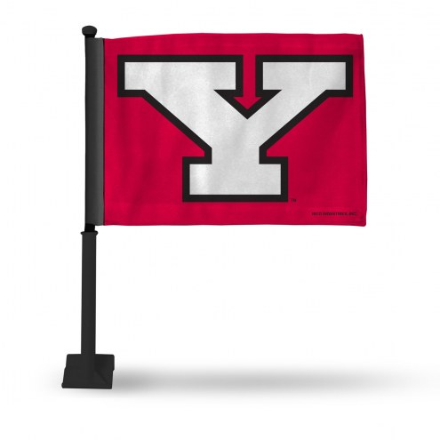 Youngstown State Penguins Car Flag