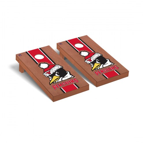 Youngstown State Penguins Rosewood Stained Cornhole Game Set