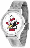 Youngstown State Penguins Silver Mesh Statement Watch