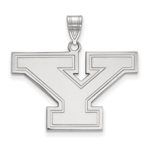 Youngstown State Penguins Sterling Silver Large Pendant