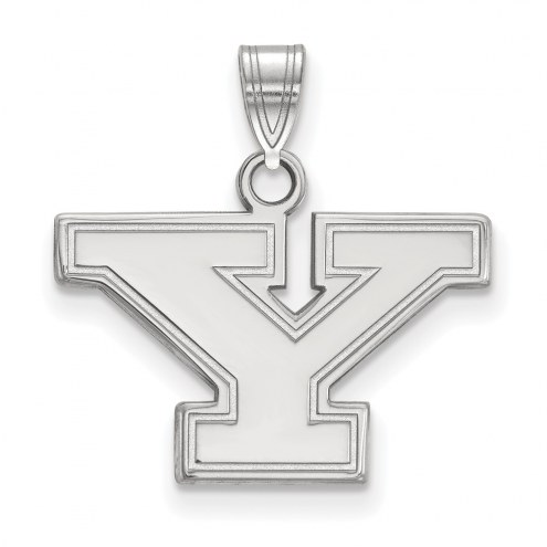Youngstown State Penguins Sterling Silver Small Pendant