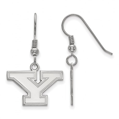 Youngstown State Penguins Sterling Silver Small Dangle Earrings