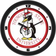 Youngstown State Penguins Traditional Wall Clock