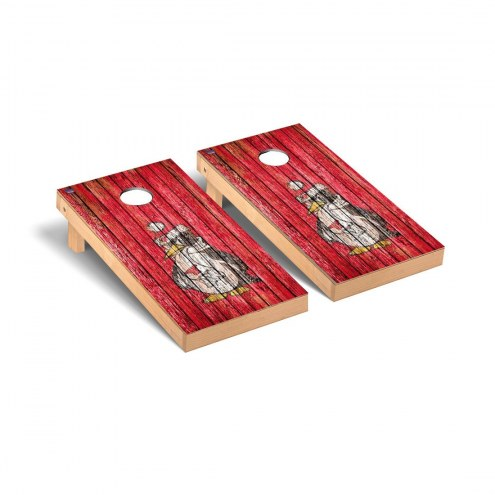 Youngstown State Penguins Weathered Cornhole Game Set