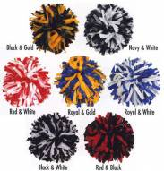 Youth 2 Color Mix Cheerleading Pom Poms