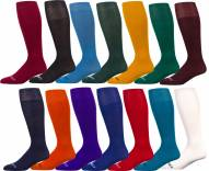 Pro Feet Solid Color Non-Cushioned All-Sport Team Socks