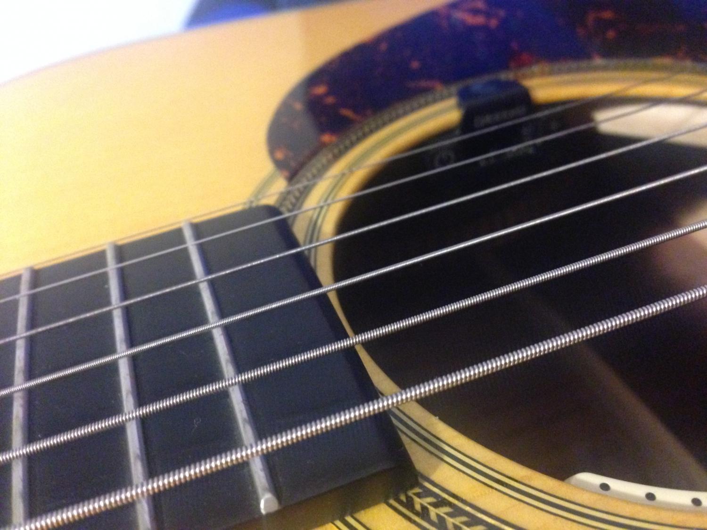 Martin Titanium Core Nickel Acoustic Guitar Strings Light 12 55