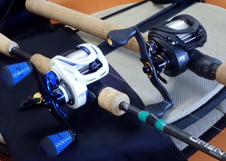 CI1SHL Lew/'s Custom Inshore Speed Spool Baitcast Fishing Reel Left Hand
