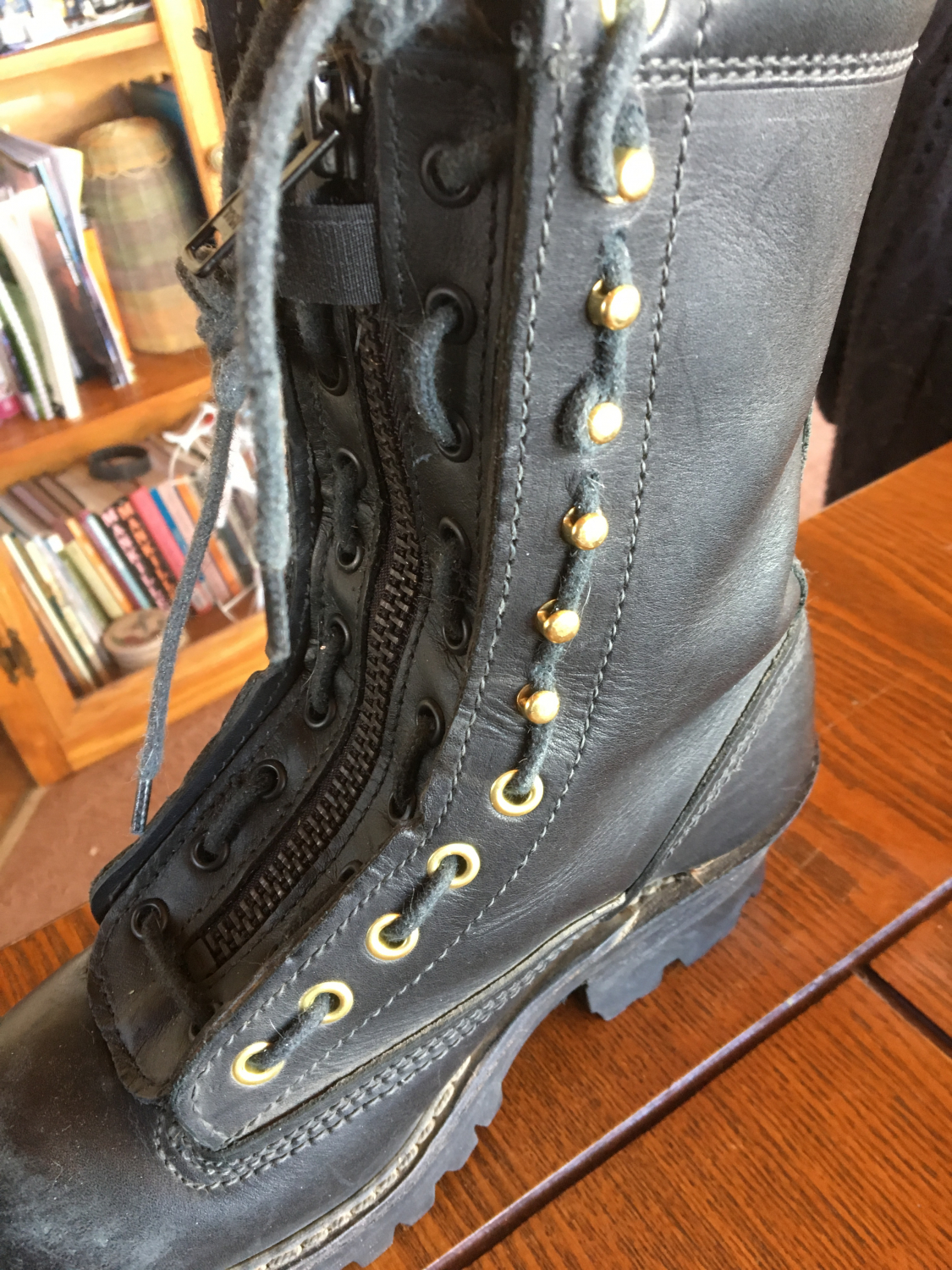 Thorogood Lace In Duty Boot Zippers